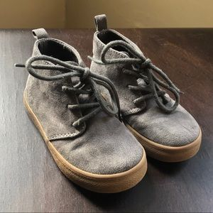 Gap Toddler Boys Gray Suede Shoes